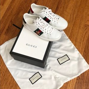 Gucci Bee Sneaker size 34
